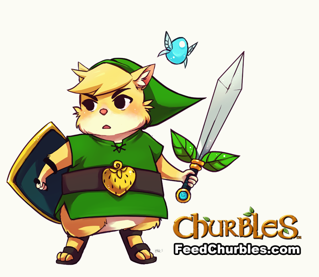 Churbles – Adorable Zelda-Like Action RPG with Anime Style Hamsters