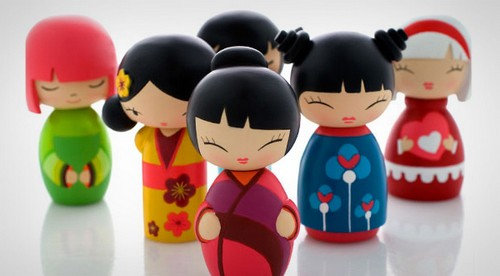Japan Traditional Toys : Momijii dolls doll toy toys collect
