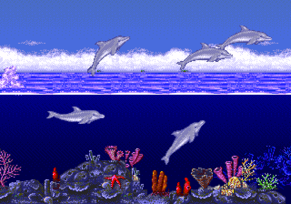 Ecco The Dolphin – Retro Game Review