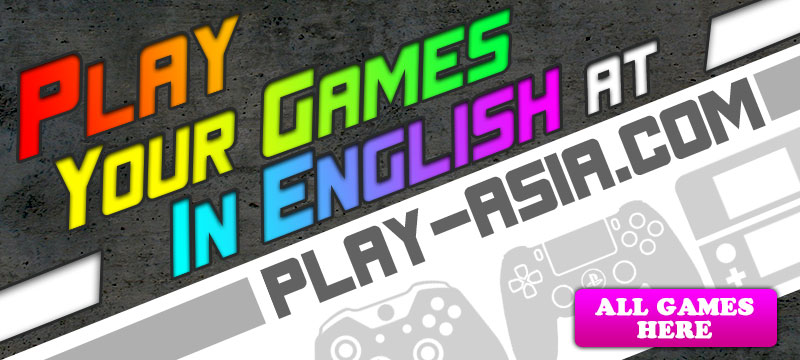 Easily Find English Anime Import Games Now on Play Asia