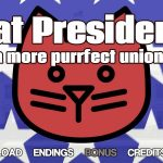 Cat President – a More Purrfect Union – Visual Novel PC Game Review
