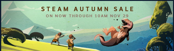 Steam Autumn Sale Now through Cyber Monday