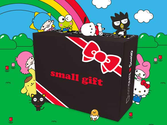 "Loot Crate's Sanrio ""Small Gift Crate"" Quarterly Subscription Box"
