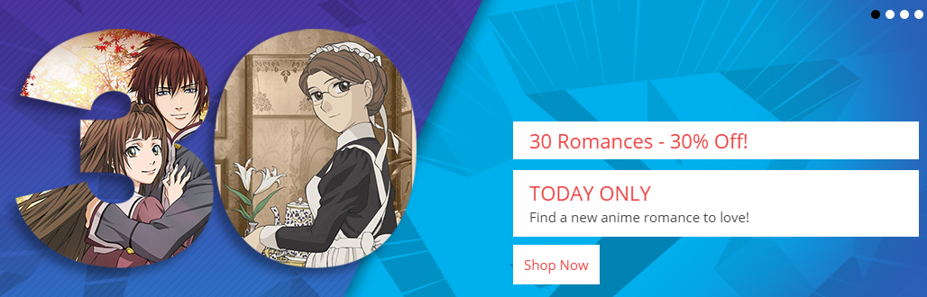 Romance Anime on Sale at RightStuf International