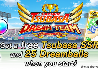 Pre-Registration Begins for English Version of Captain Tsubasa Dream Team Anime Soccer Game