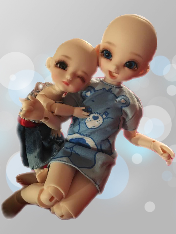 Recast Asian Balljointed Dolls