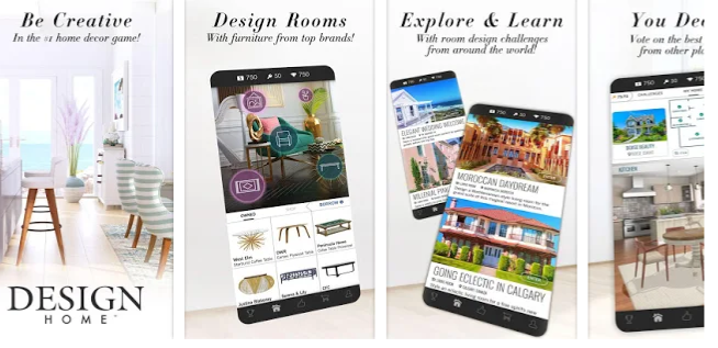 Game Review: Design Home vs Home Design Makeover – 2 Similar Apps With Similar Names – Which Home Decorating Game Is Better?