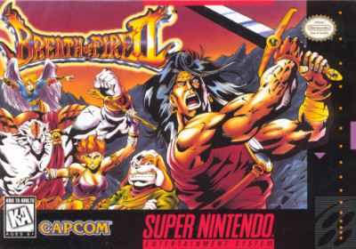 Breath of Fire 2 SNES JRPG